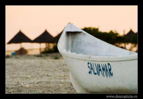 Plaja la apus - Gura Portitei