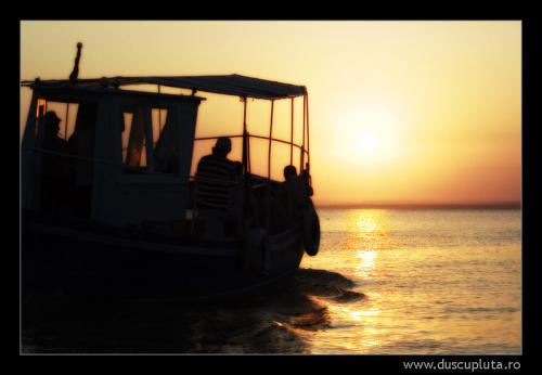 Apus barca Gura Portitei