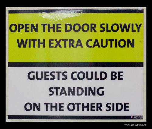be very, very cautios